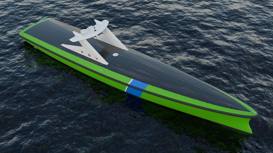 Autonome schepen beschermen windparken