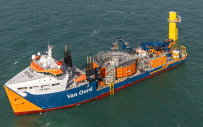 RWE chooses Van Oord for foundations and array cables at Sofia Offshore Wind Farm