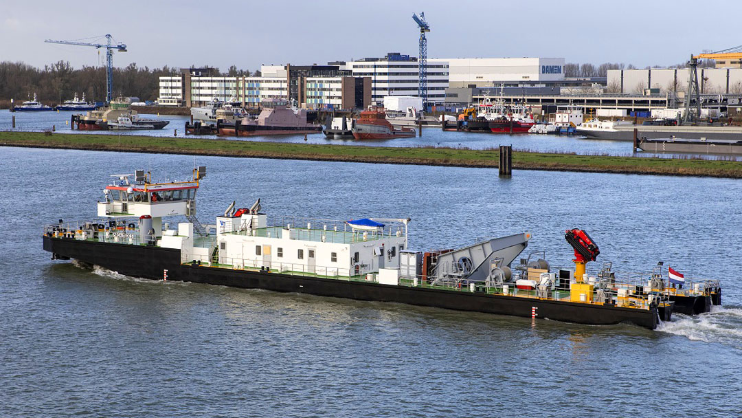 Damen completes work on German Federal Waterways and Shipping Administration (WSV) diving bell ship