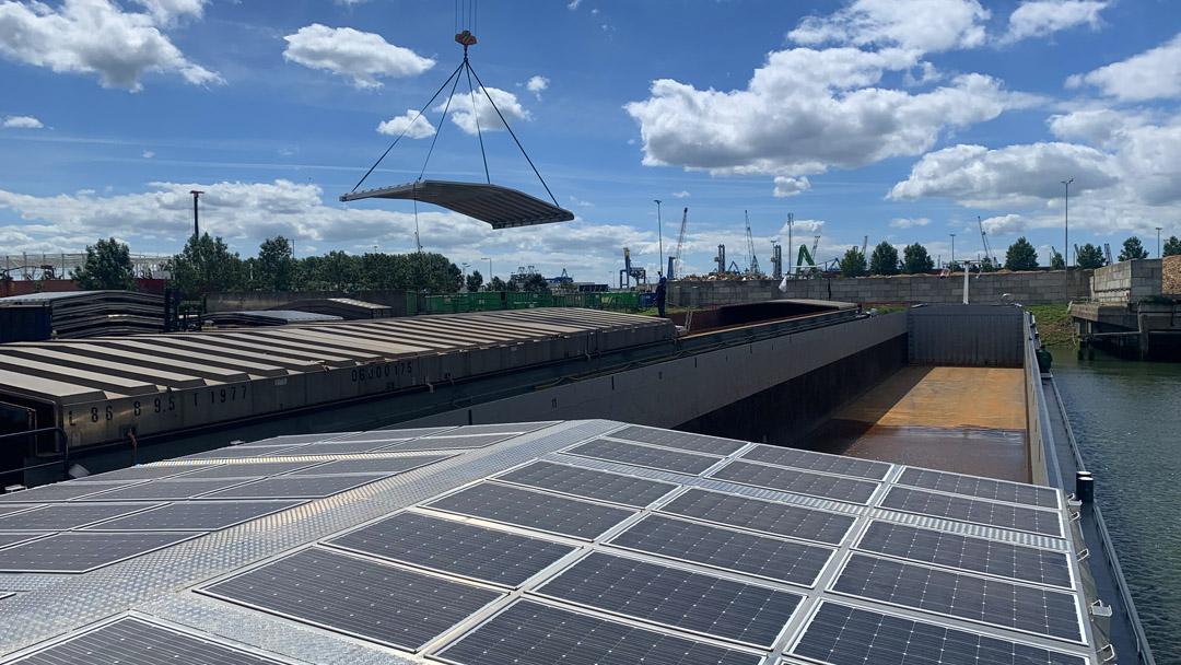 'Binnenvaart als varend zonnepark'