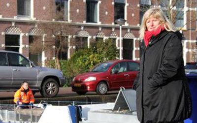 Citybarge en Renewi starten in Leiden met vervoer van bedrijfsafval over water