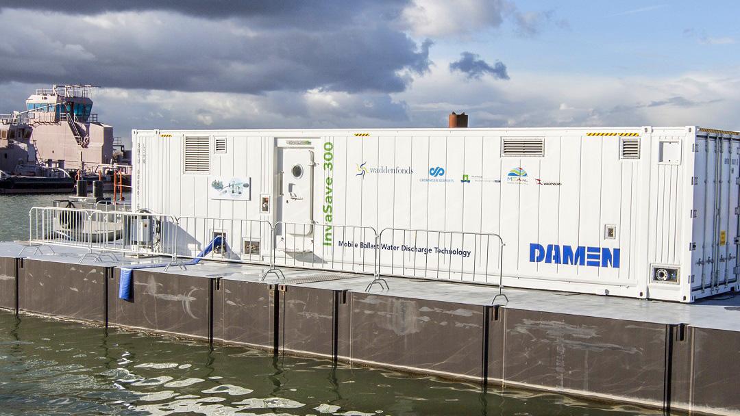 Damen trekt investering klimaatfonds Climate Investor 2 aan om invasieve soorten in ballastwater te bestrijden