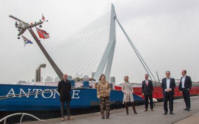 Subsidie voor nieuwbouw eerste waterstof aangedreven vrachtschip