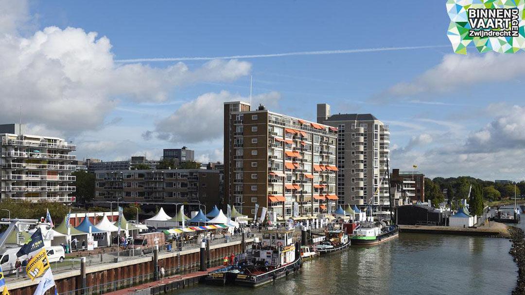 Binnenvaartdagen Zwijndrecht verplaatst naar 2022