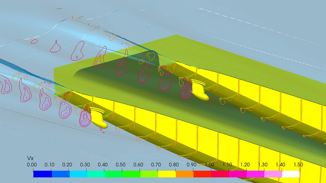 Damen and Hydromaster develop new ferry thruster for Blue Amigo