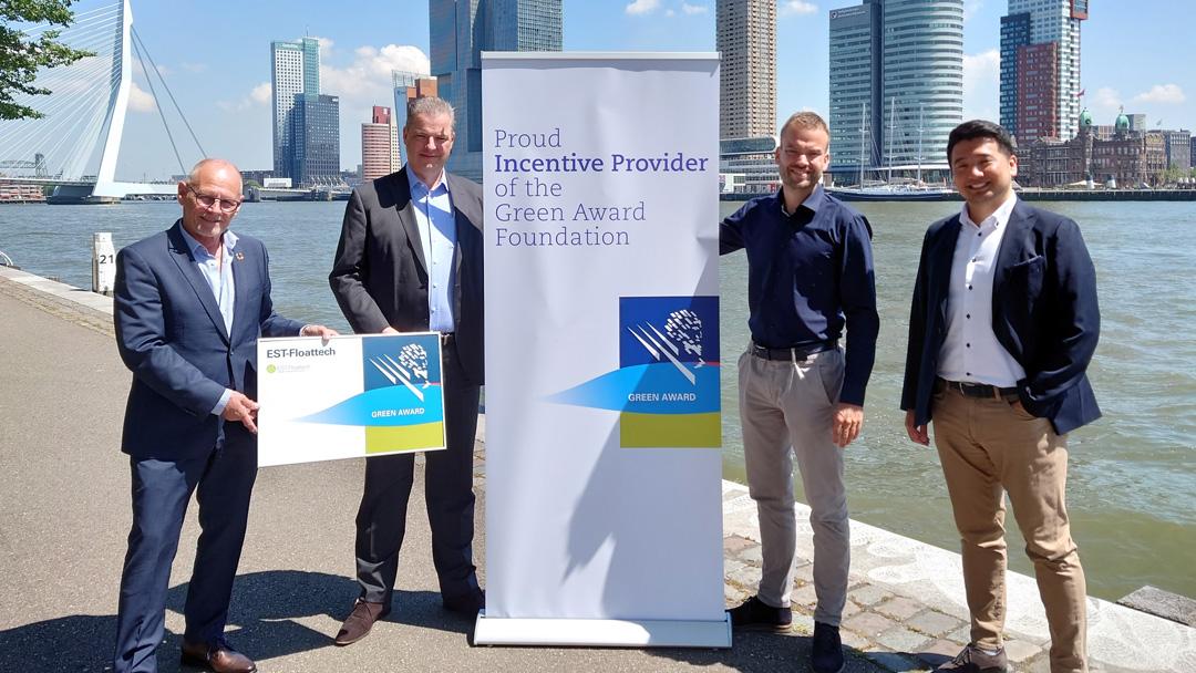EST-Floattech sluit zich als incentive provider aan bij Green Award netwerkvider