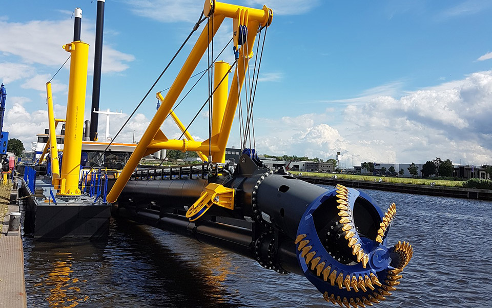 Damen contracted to deliver cutter suction dredger to T&C in Paraguay