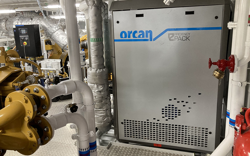 Van Oord relies on waste heat recovery: Maritime energy efficiency solution from Orcan Energy installed for the first time on two dredgers