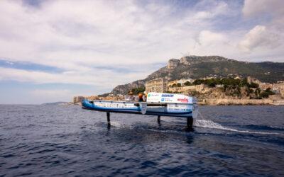 Vliegende waterstofboot van TU Delft zwaar beschadigd één dag voor de belangrijkste WK race in Monaco
