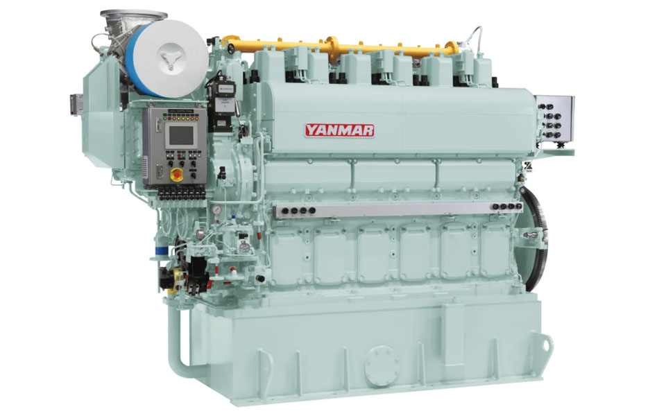 Yanmar Receives First Order for 6EY22ALDF Marine Dual Fuel Engines for LNG-Fueled Large Coal Carrier