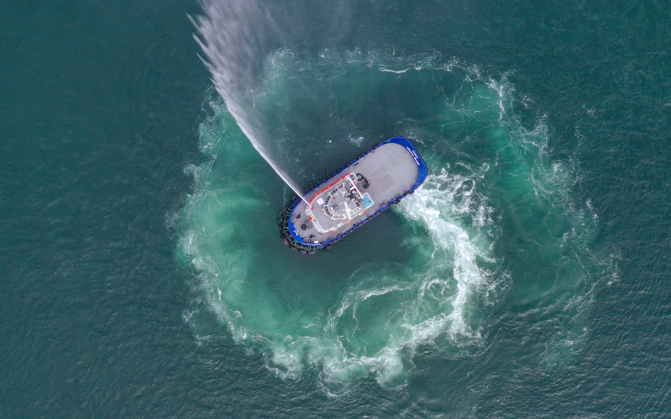 NAVTEK Proves First Zero-Emissions Tugboat Performance